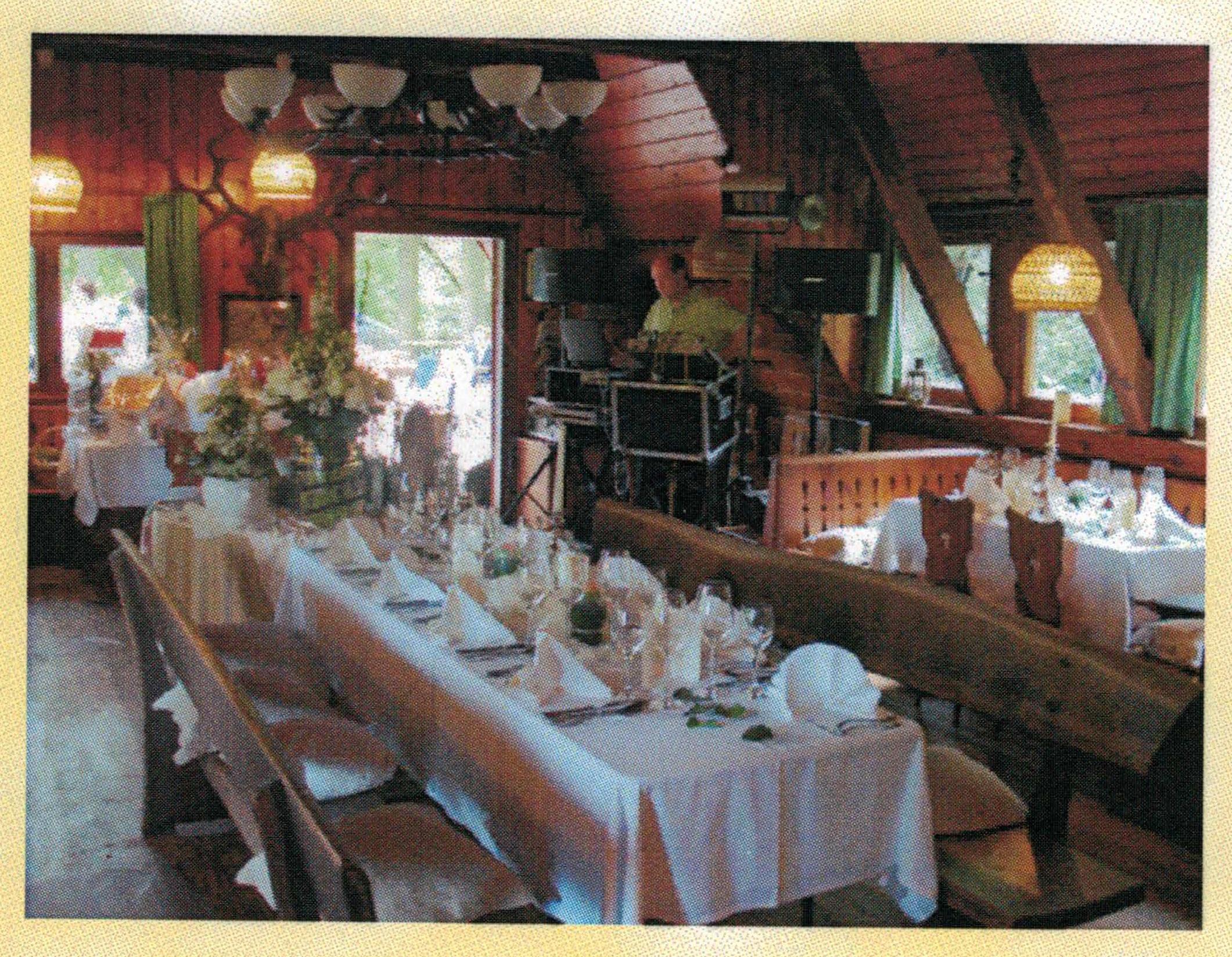 j ger und fischerh tte wermsdorf restaurant mit besonderem. Black Bedroom Furniture Sets. Home Design Ideas